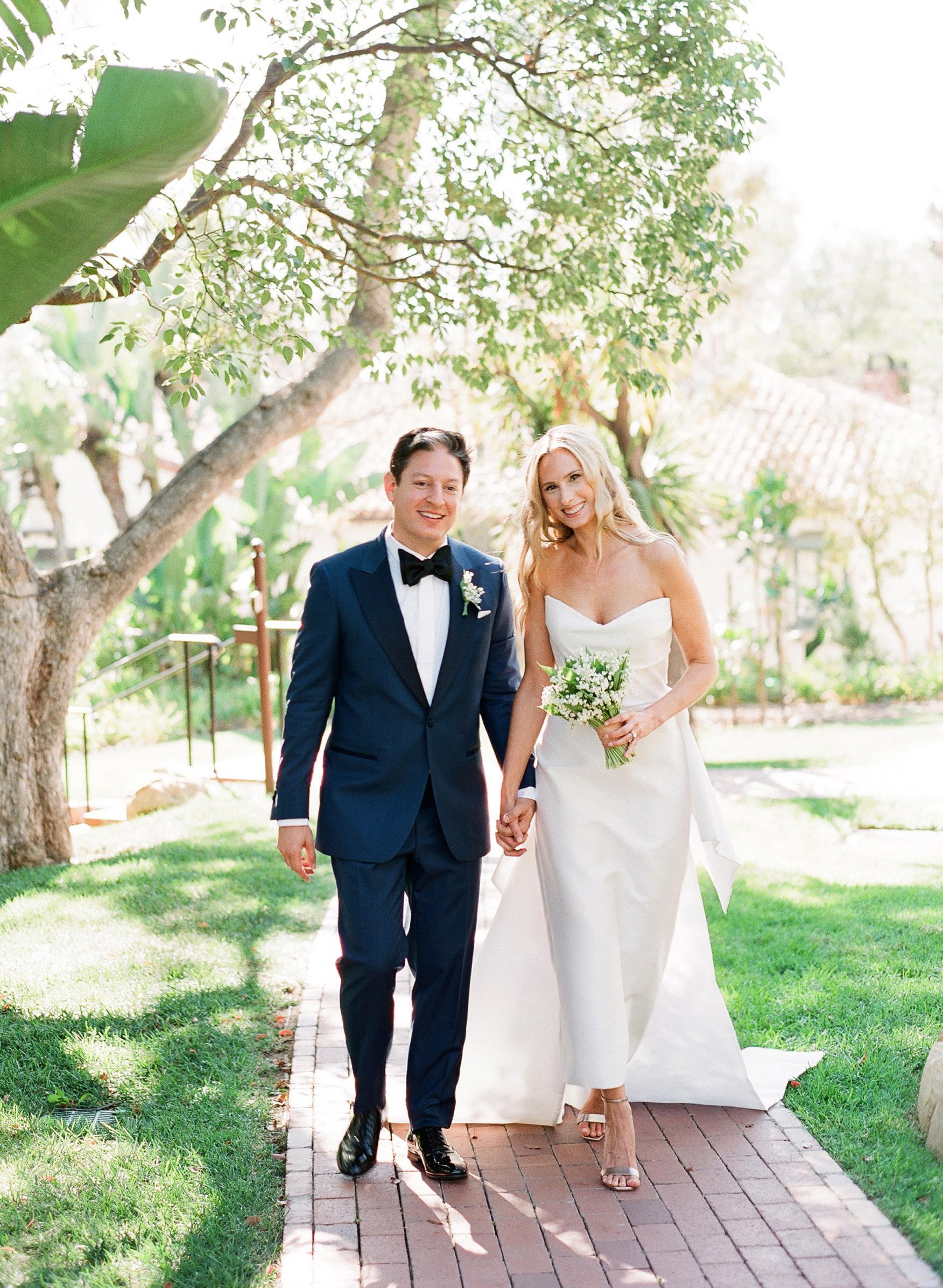 katy michael wedding couple