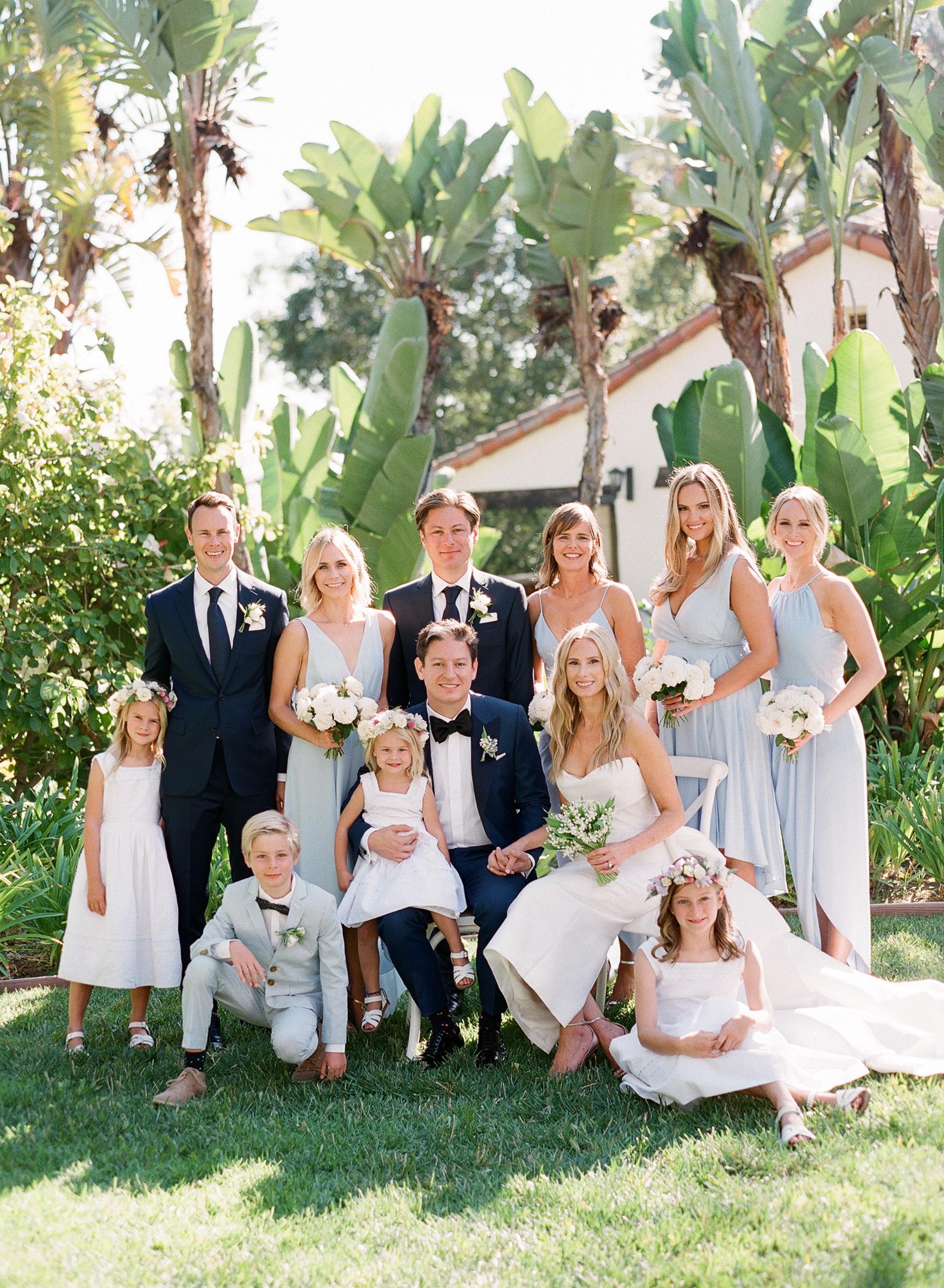 katy michael wedding party