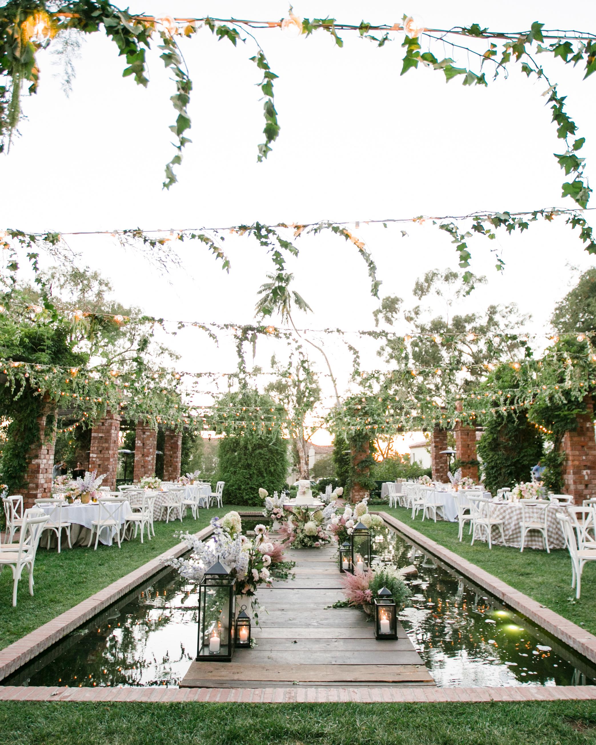 katy michael wedding reception space