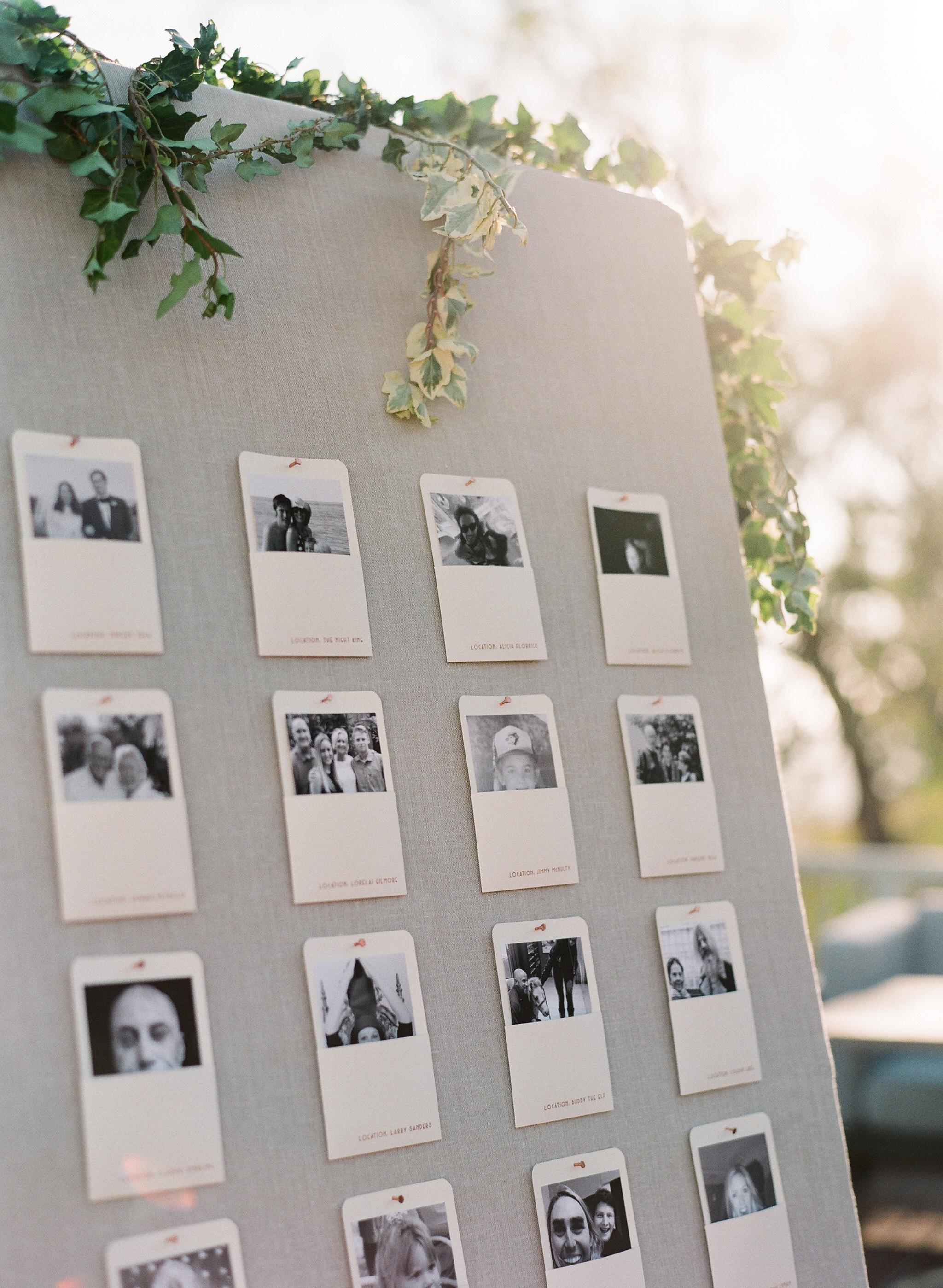 katy michael wedding seating chart
