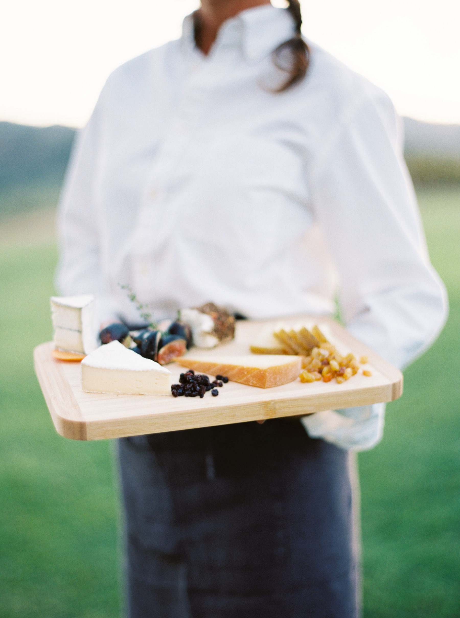 unique passed apps cheese board