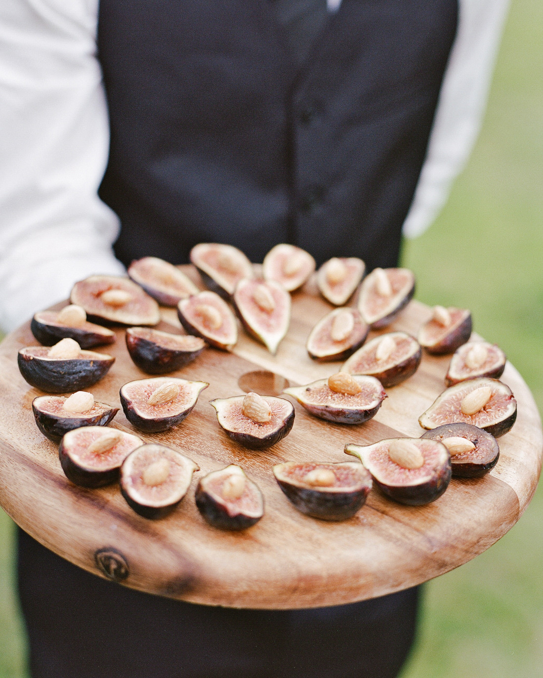 unique passed app cocktail hour figs