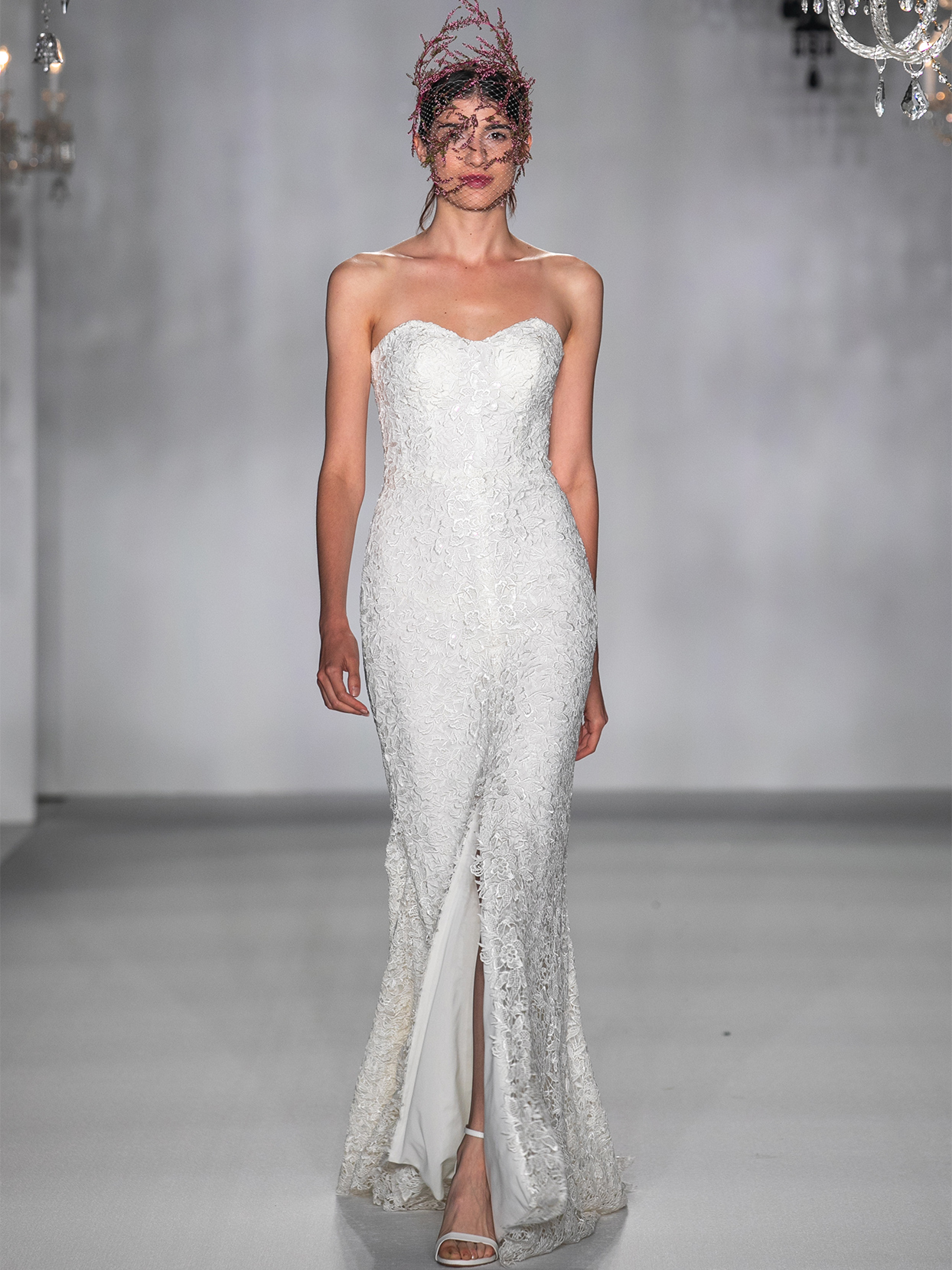 anne barge sweet heart strapless mermaid wedding dress fall 2020
