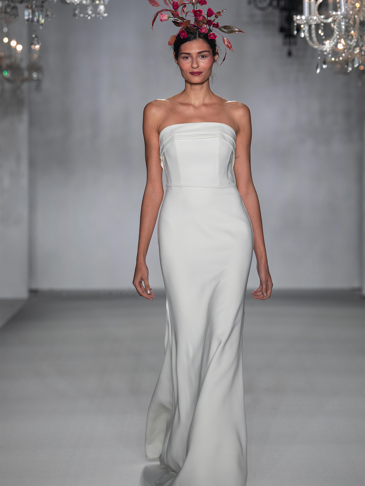 anne barge strapless mermaid wedding dress fall 2020