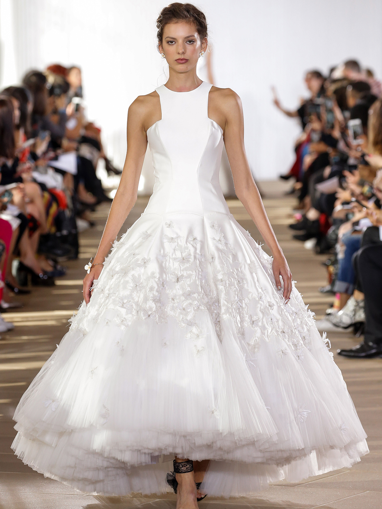 Ines Di Santo halter high-low dress wedding dress fall 2020