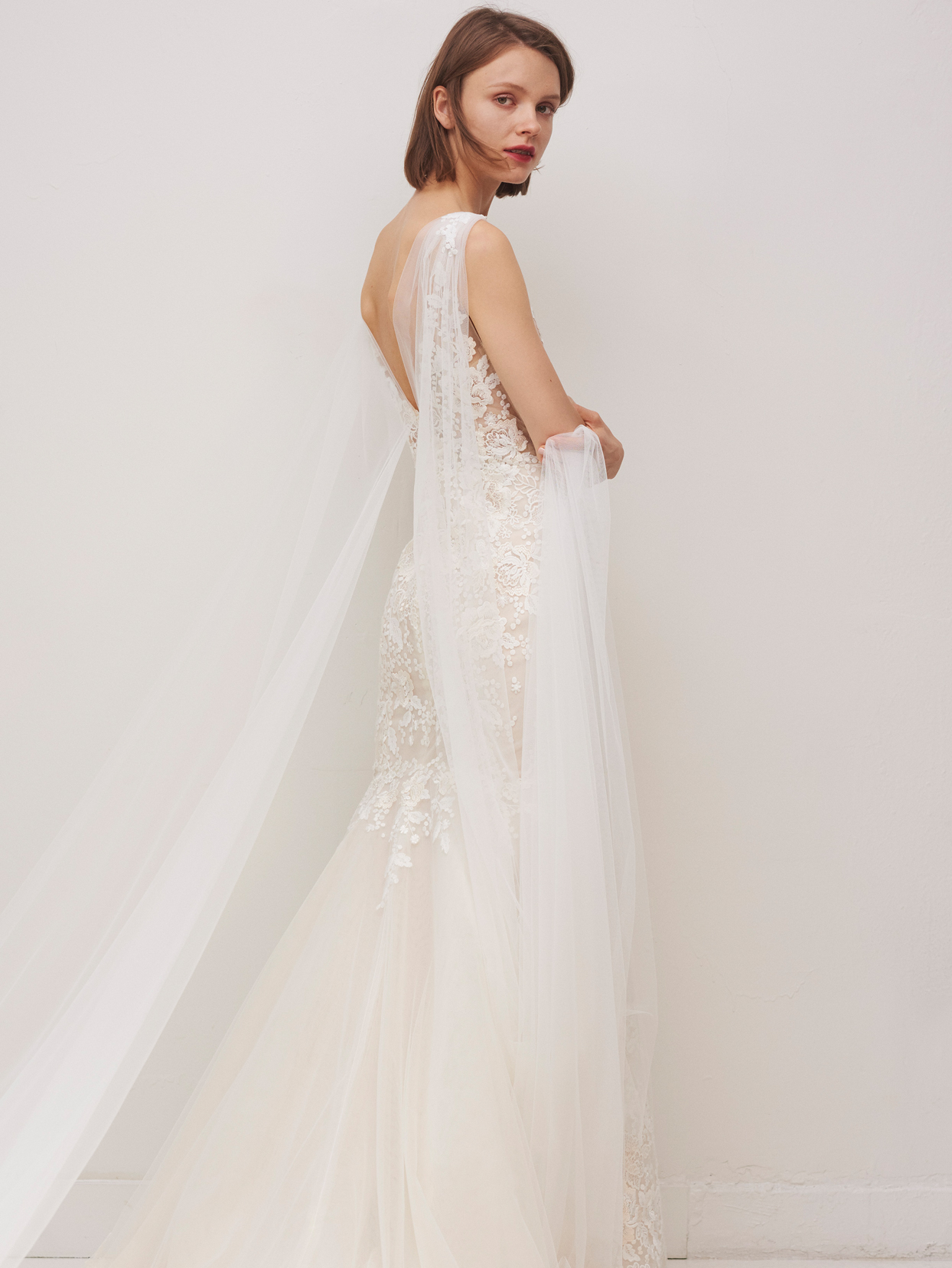 rivini by rita vinieris lace mermaid wedding dress fall 2020