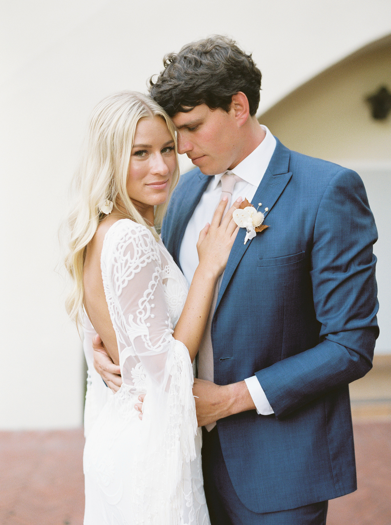 maddy will wedding couple