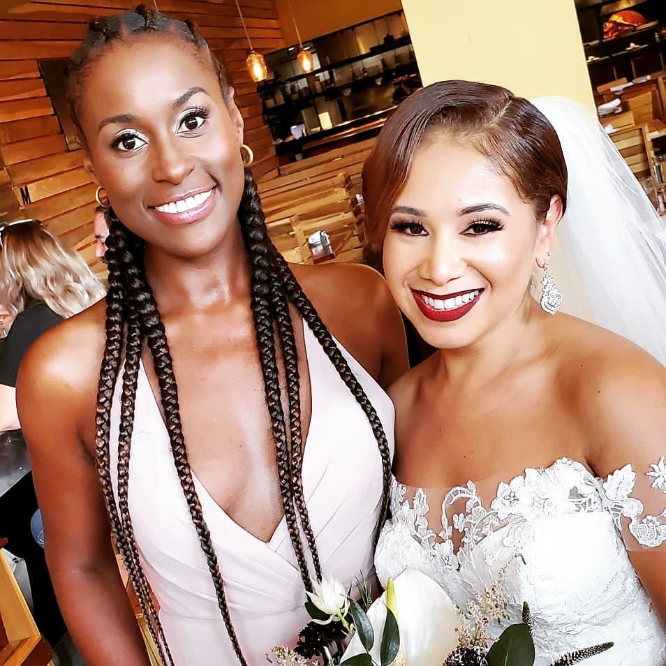 Issa Rae Bridesmaid
