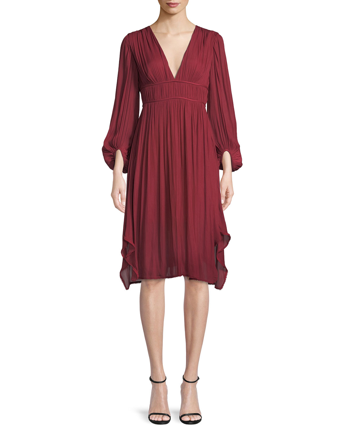 Halston Heritage Ruched Dress