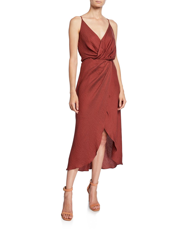 "Joie ""Tanika"" Sleeveless Wrap Dress"