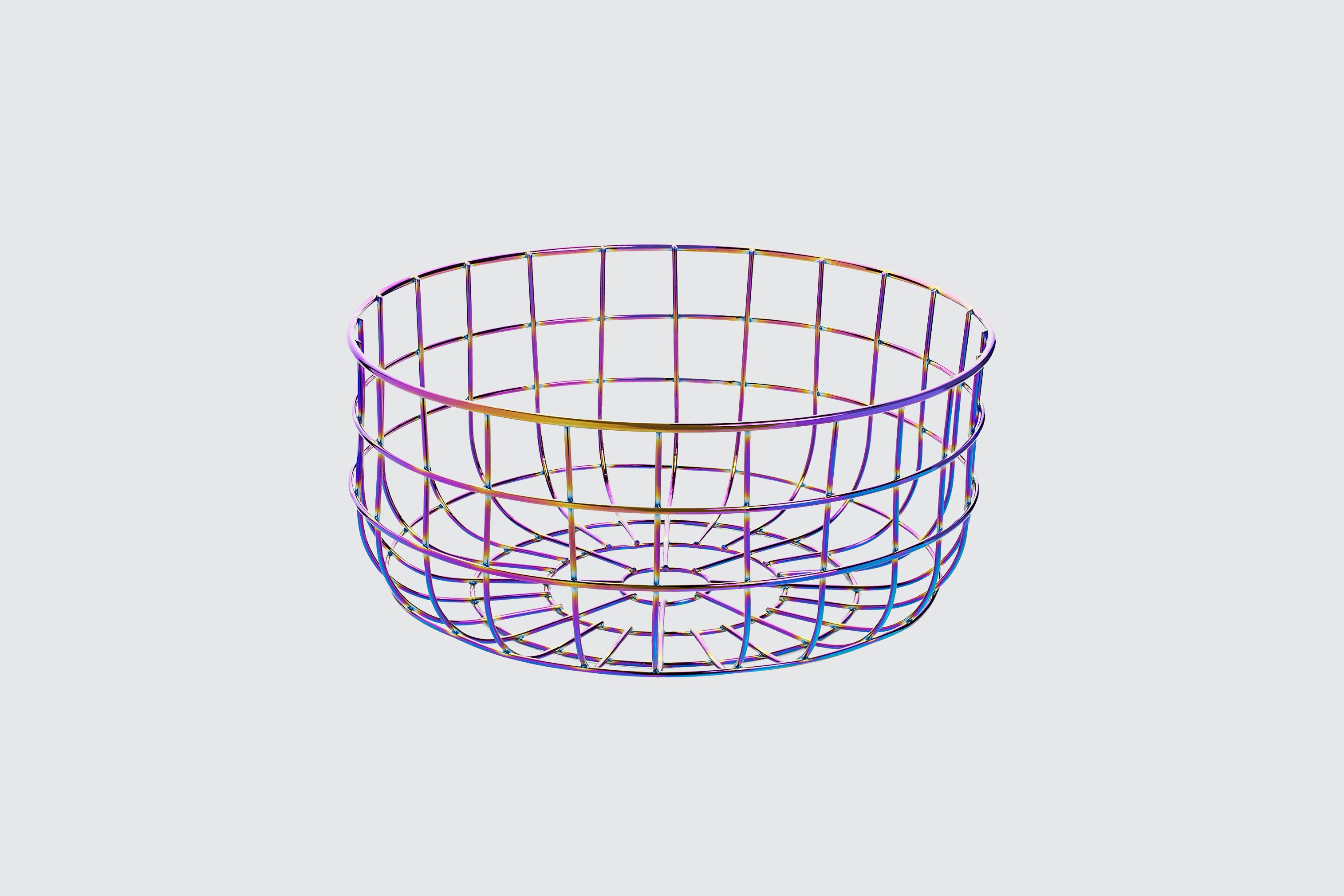 Lady Ironside Wire Fruit Basket