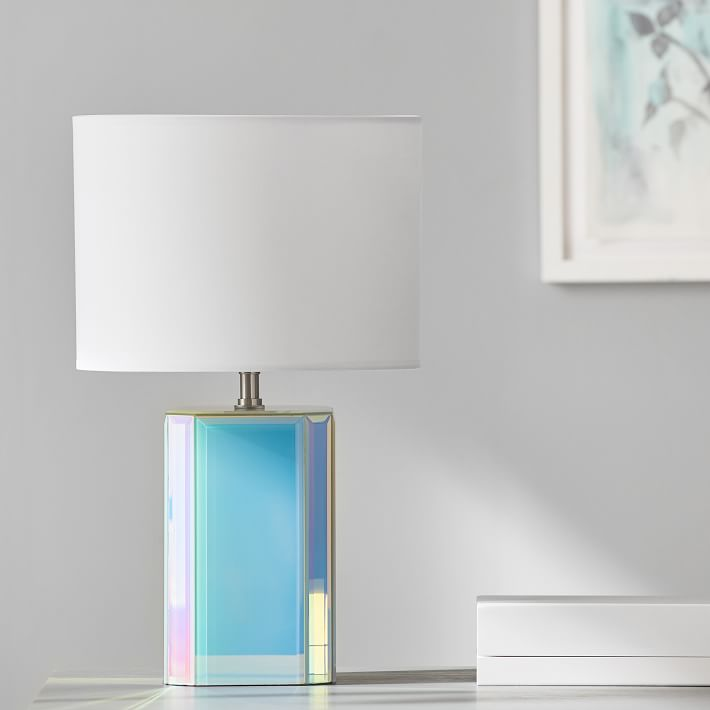 PB Teen Iridescent Table Lamp