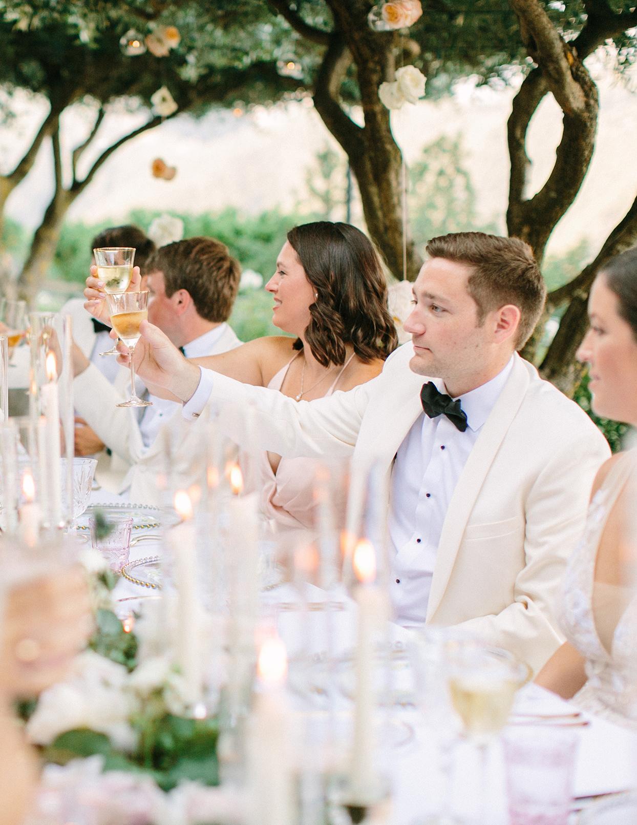 jacqueline david wedding reception toasts