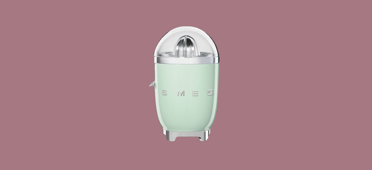 mint green Smeg Citrus Juicer