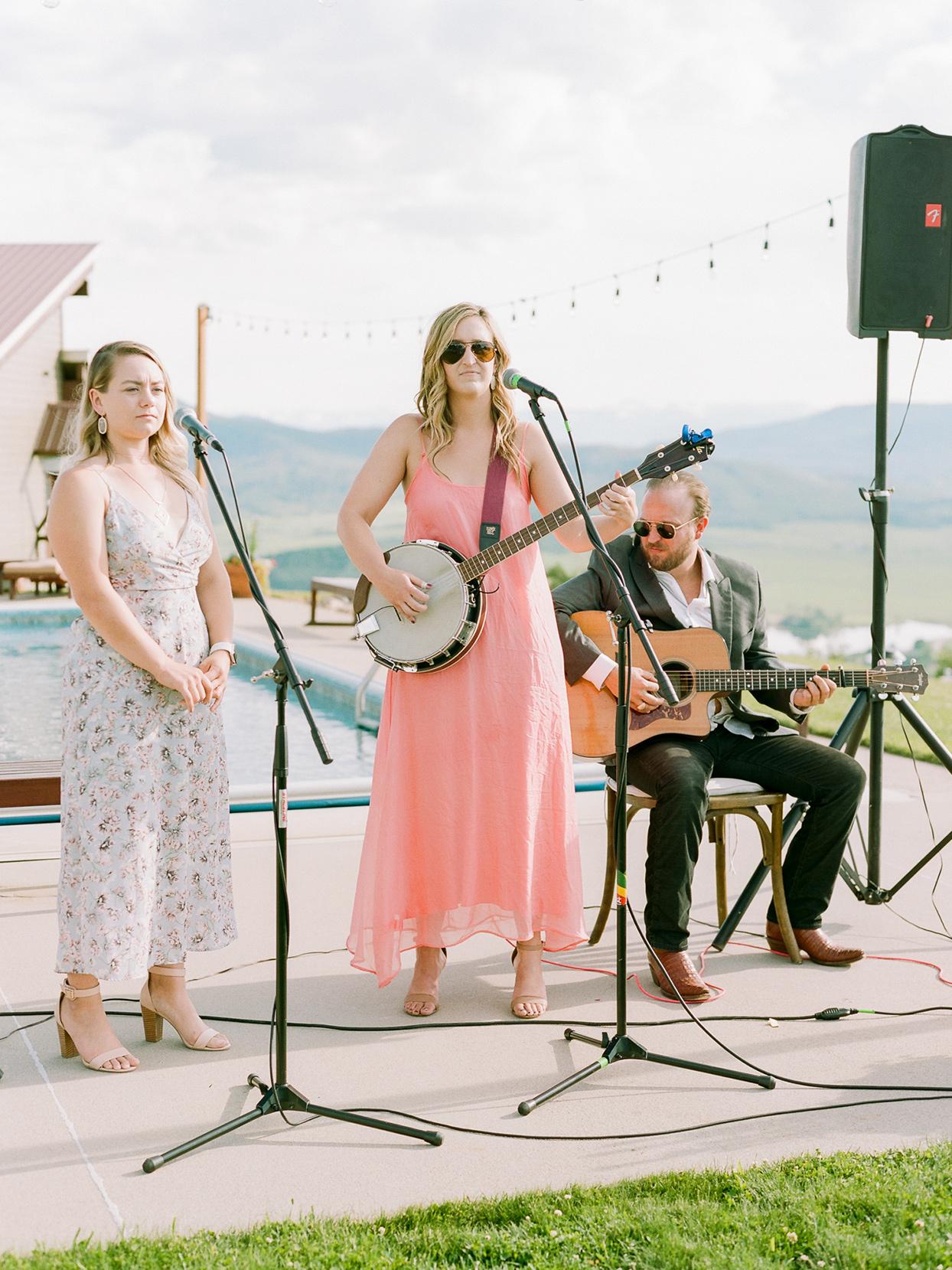 logan conor wedding ceremony musicians