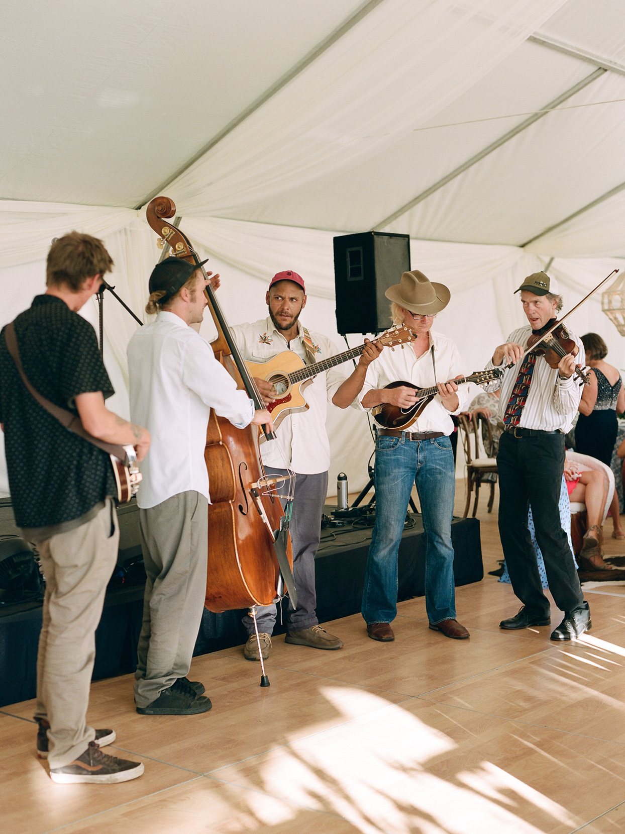 logan conor wedding reception band