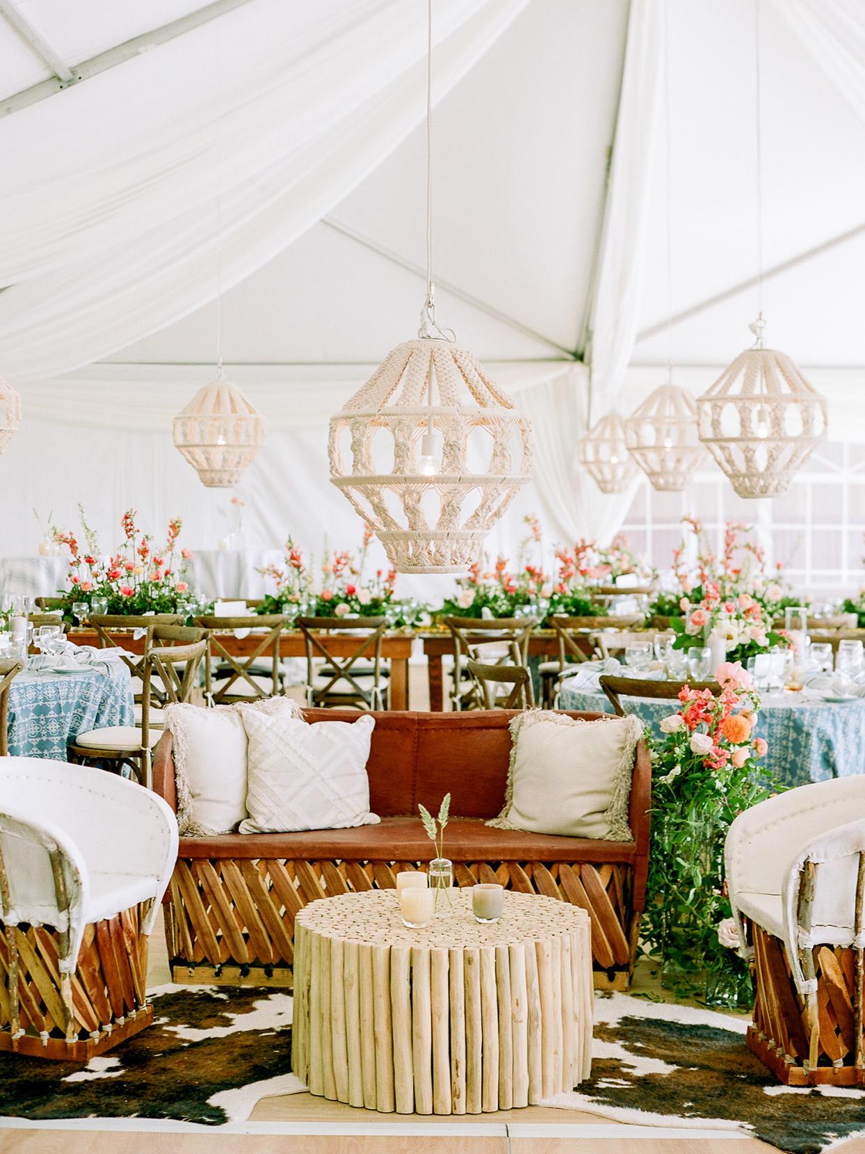 logan conor wedding lounge area