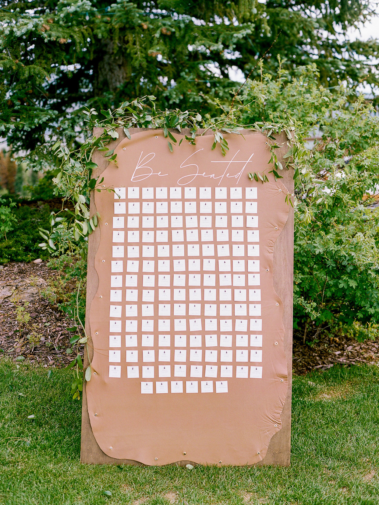 logan conor wedding reception seating chart