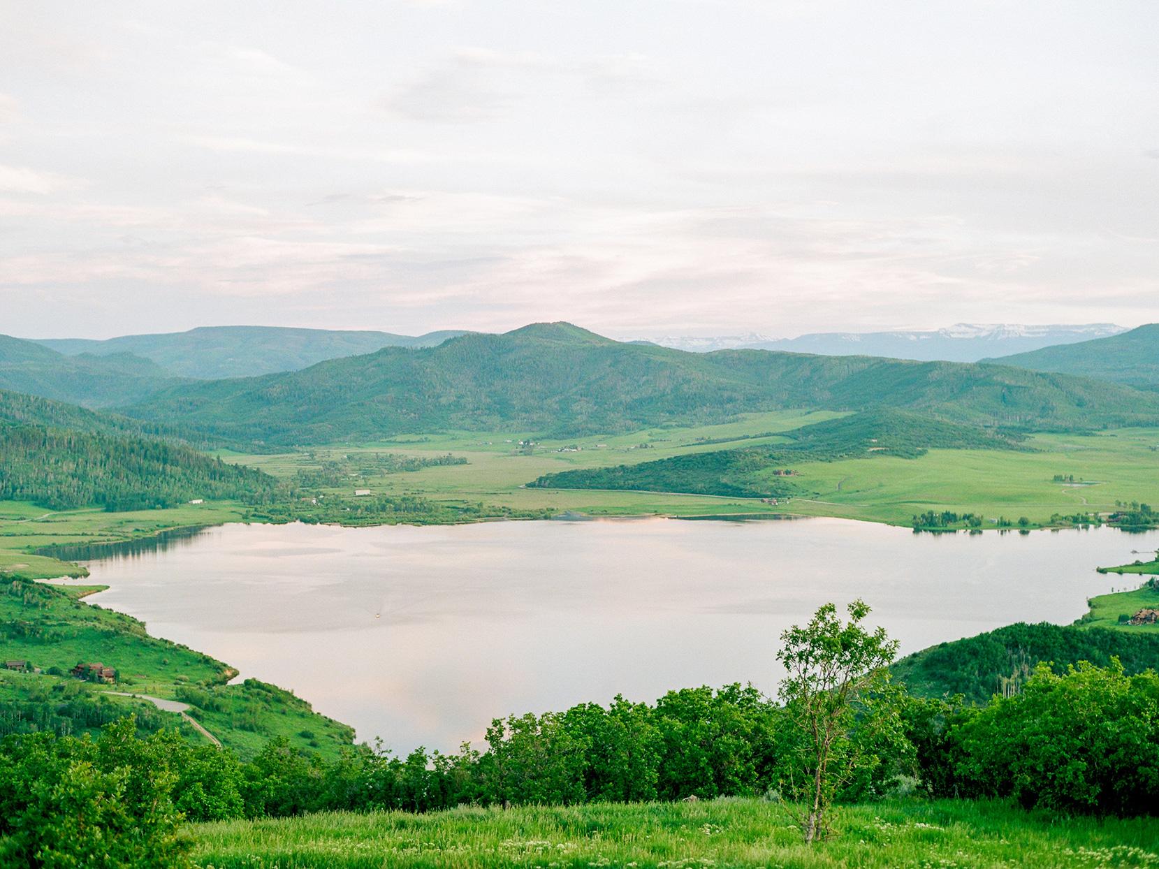 logan conor wedding mountain landscape