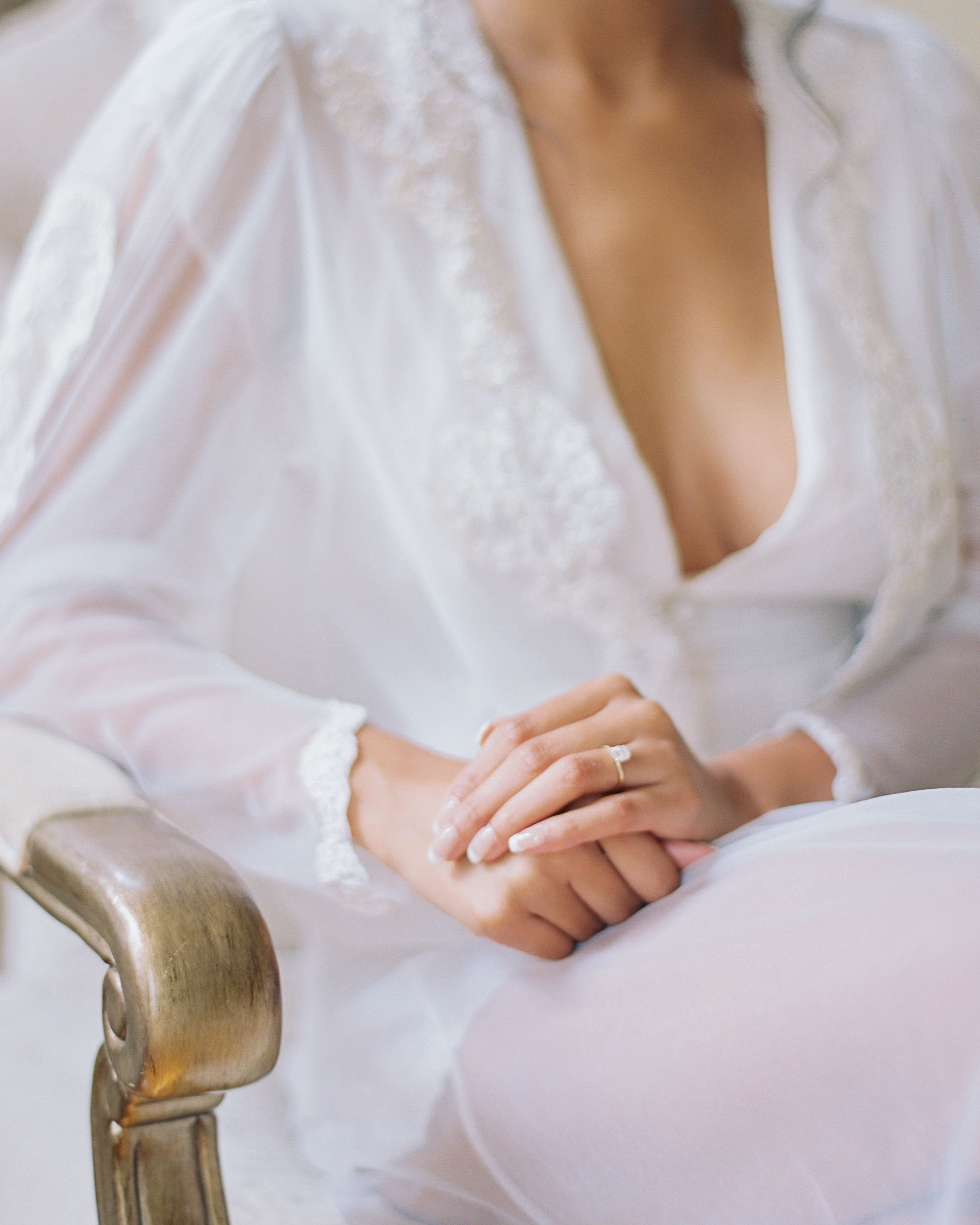 macey joshua bride manicure engagement ring