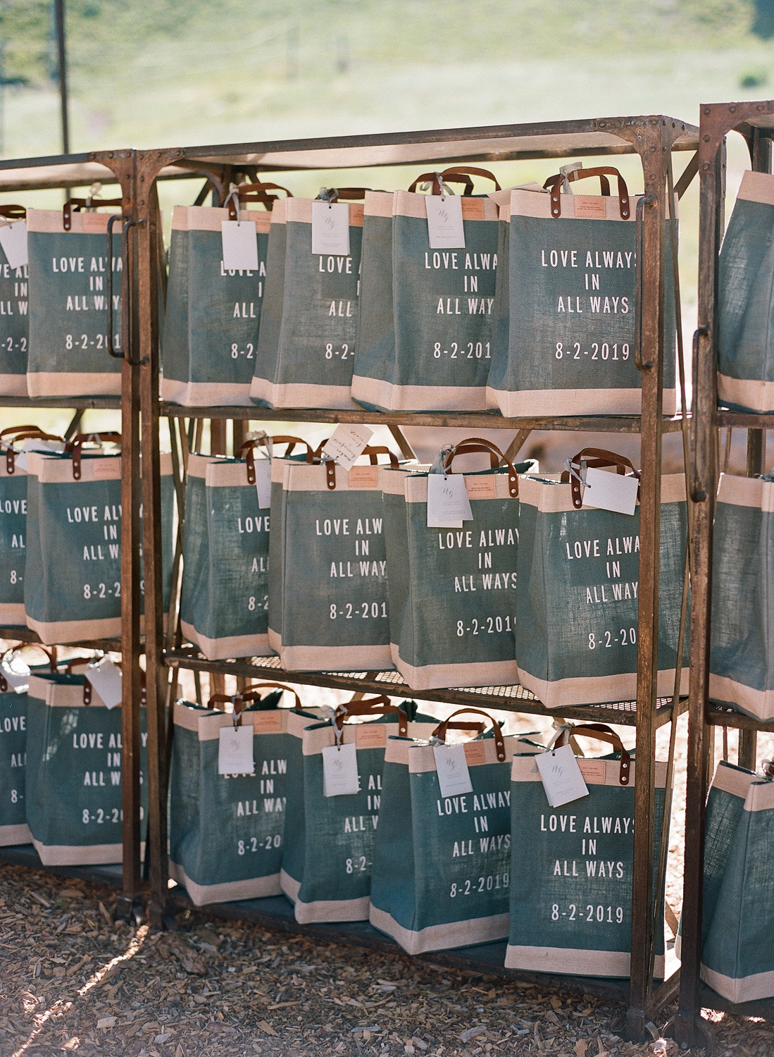 natalie grant rehearsal dinner welcome bags