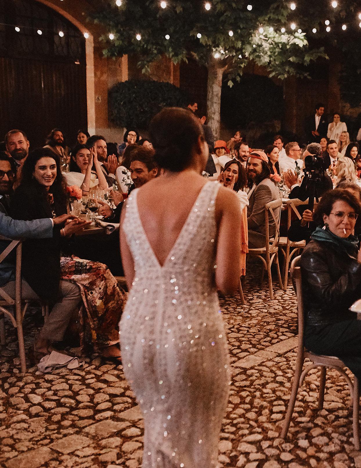 pomme daniel wedding reception performance