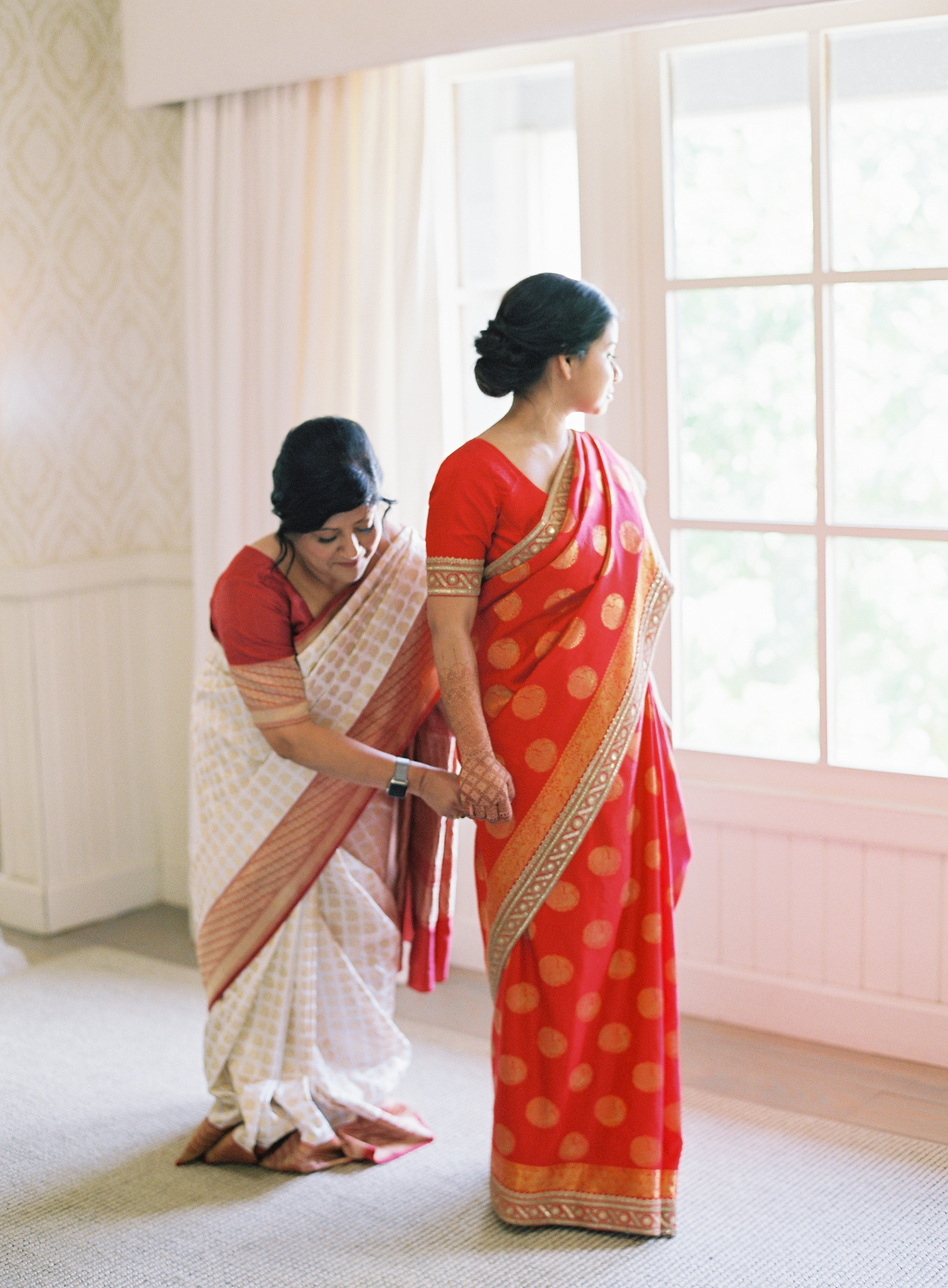 ronita ryan wedding bride in gown