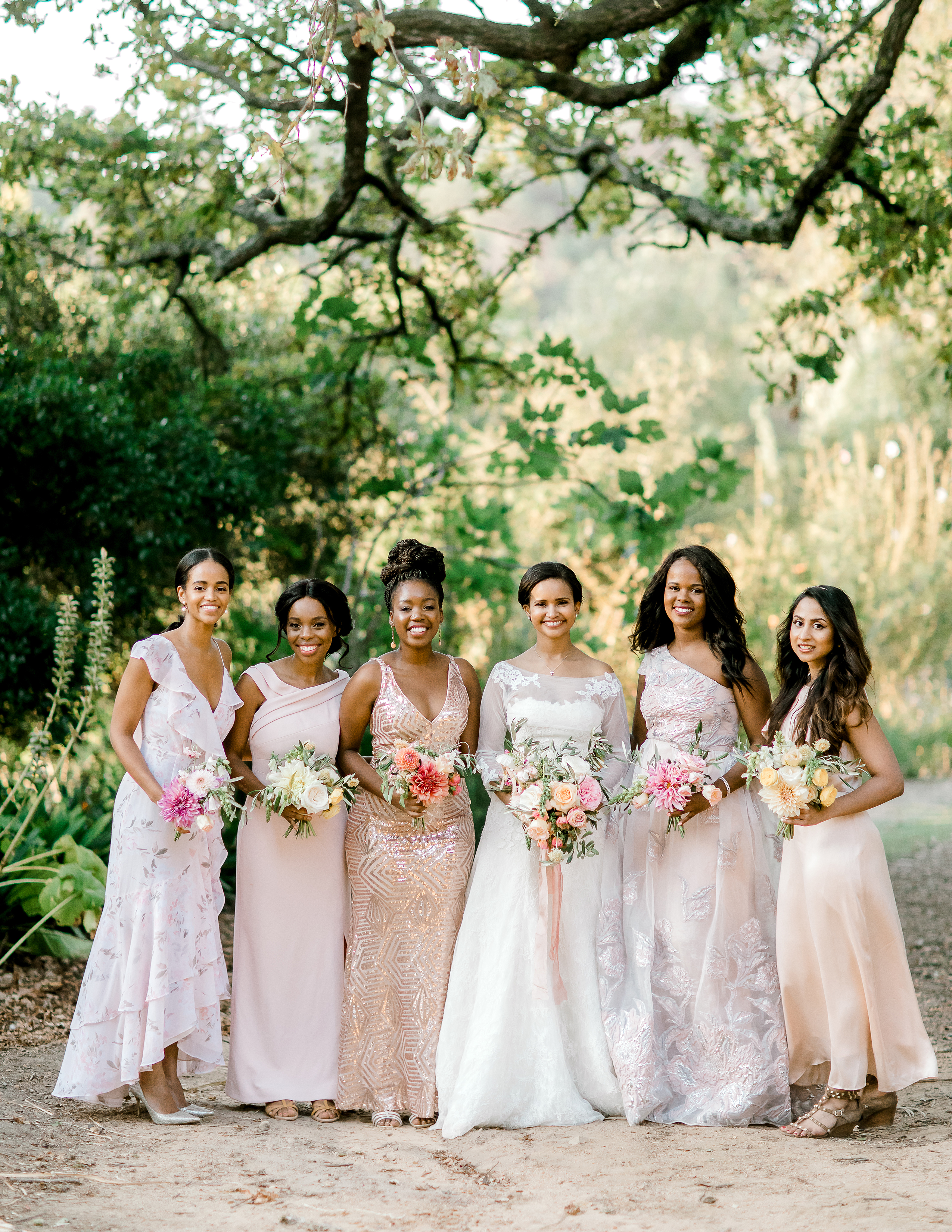 rorisang stephen wedding bridesmaids