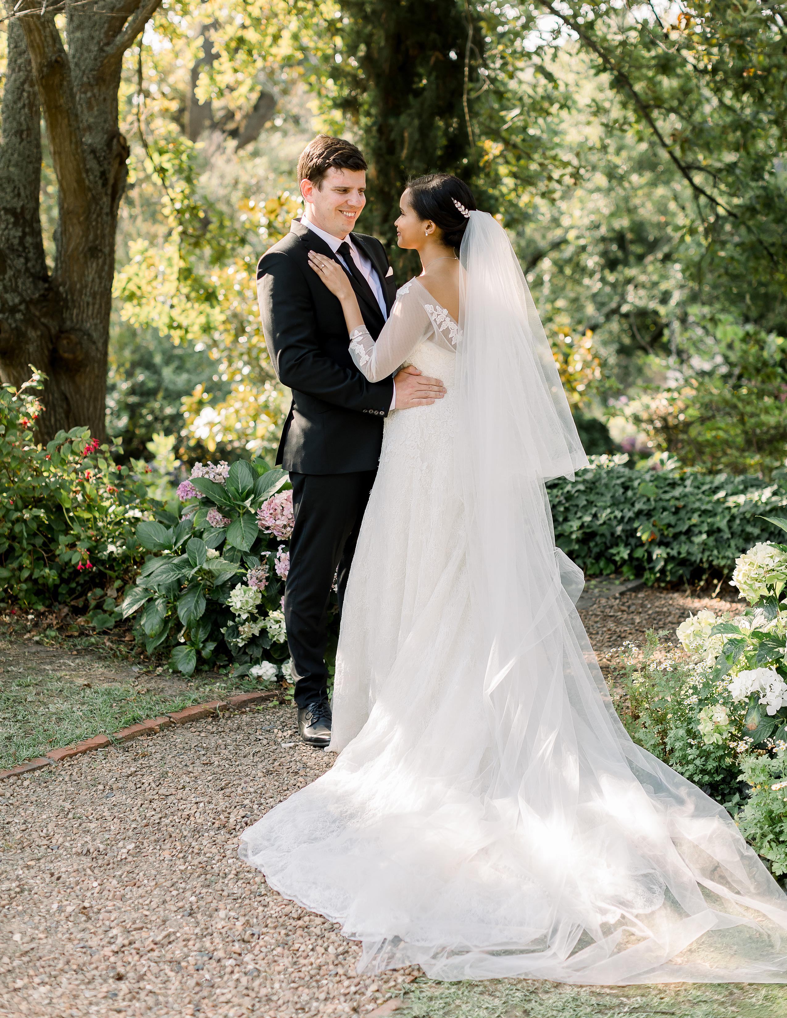 rorisang stephen wedding first look