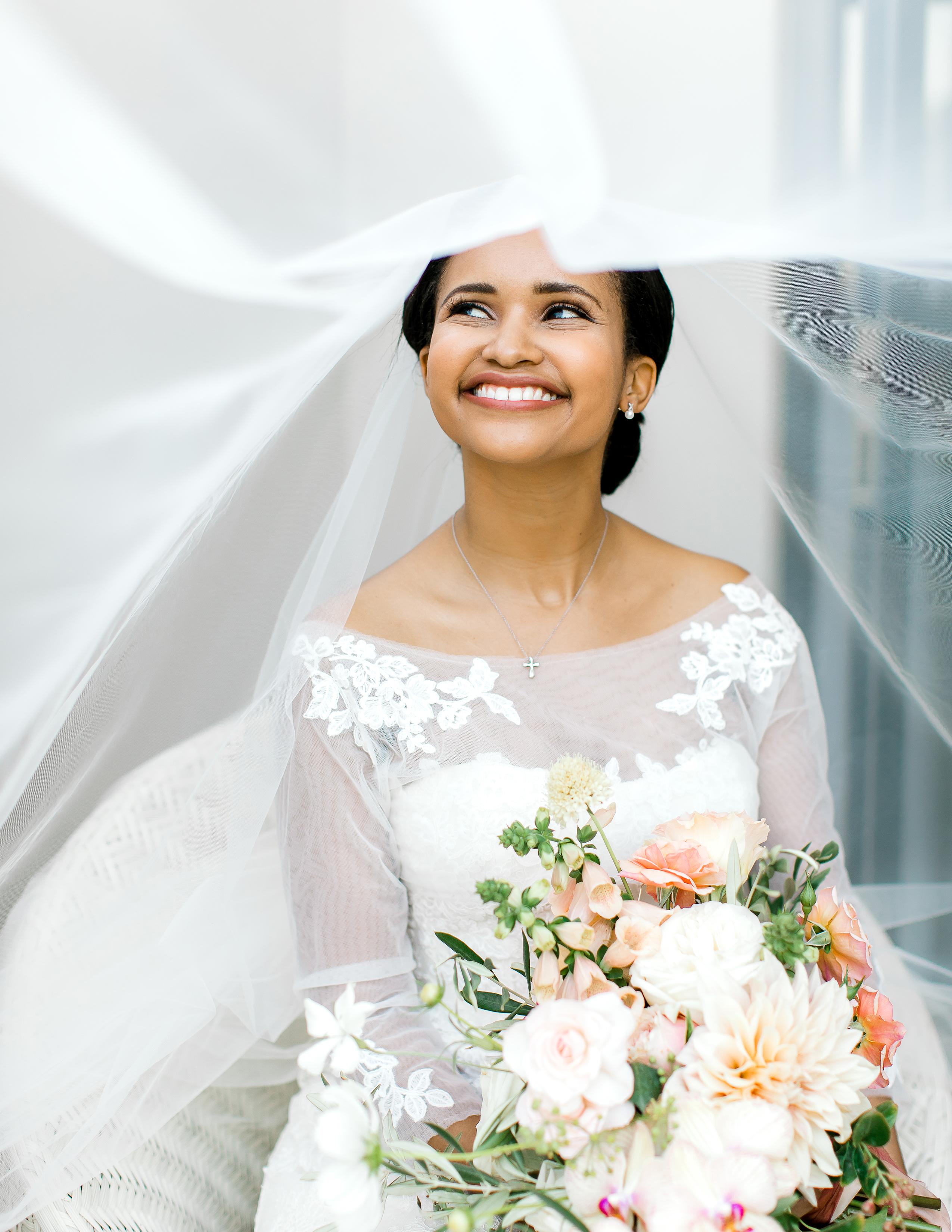 rorisang stephen bride under veil