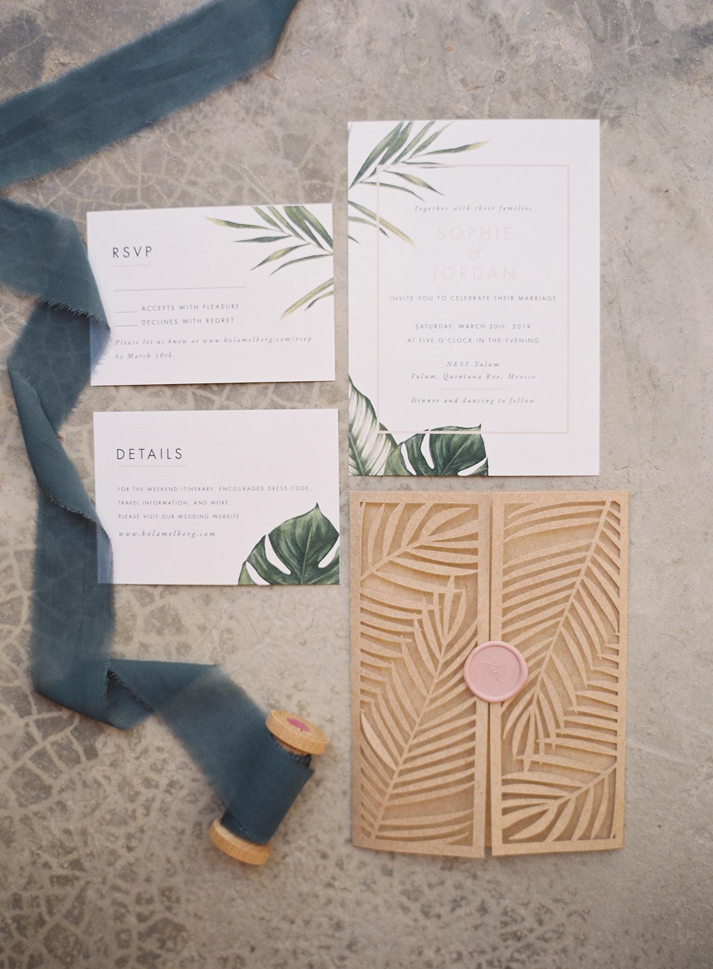sophie jordan wedding invites