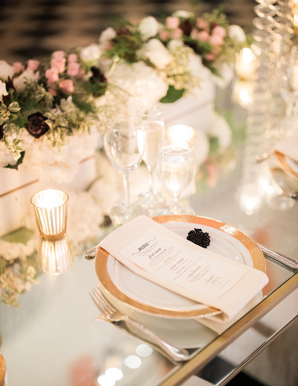 victoria tk wedding reception place setting