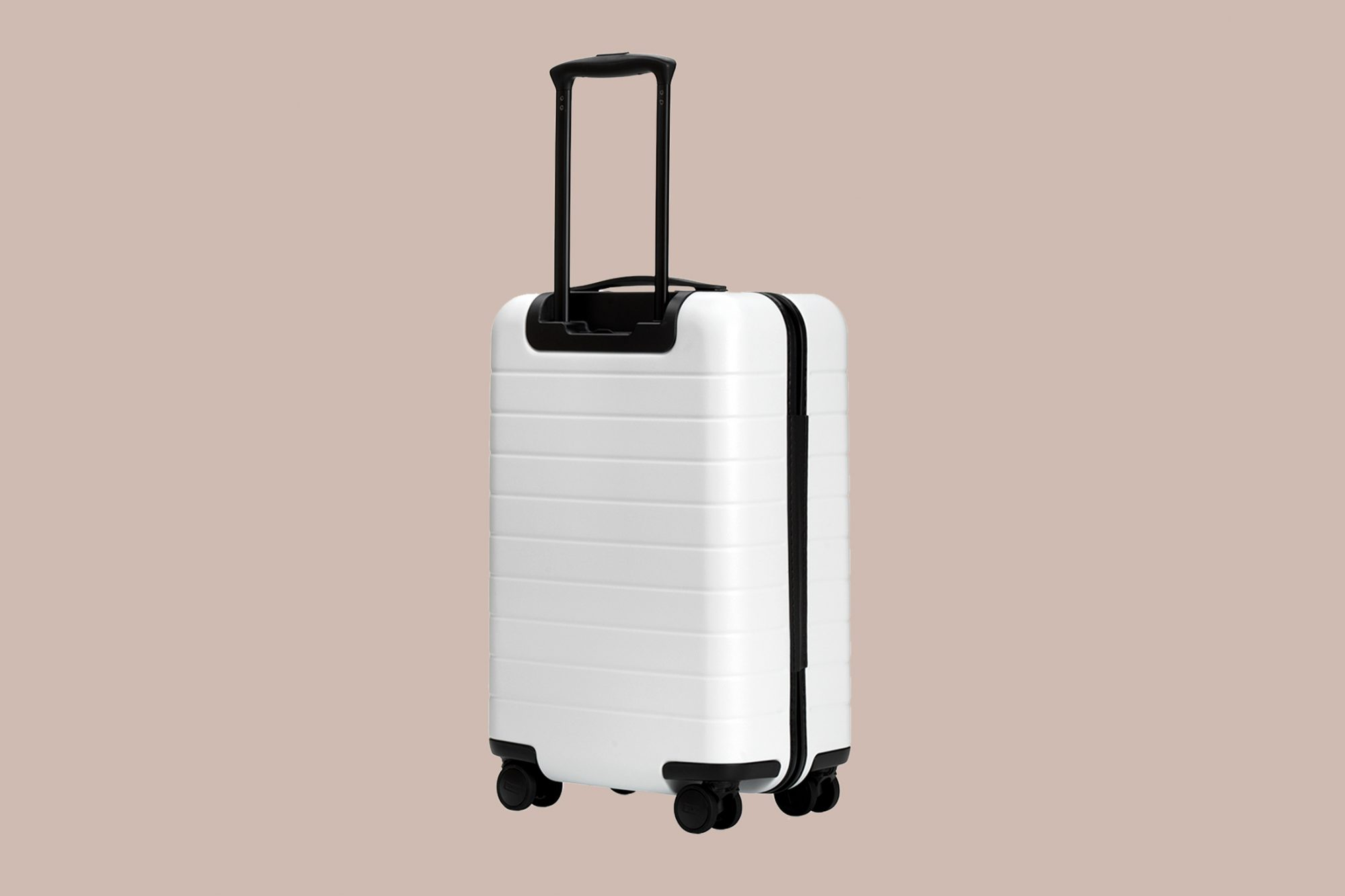 bride gift idea white luggage case