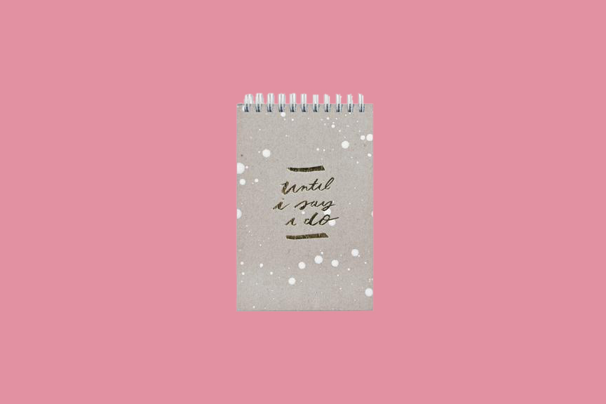 until i say i do bride notebook