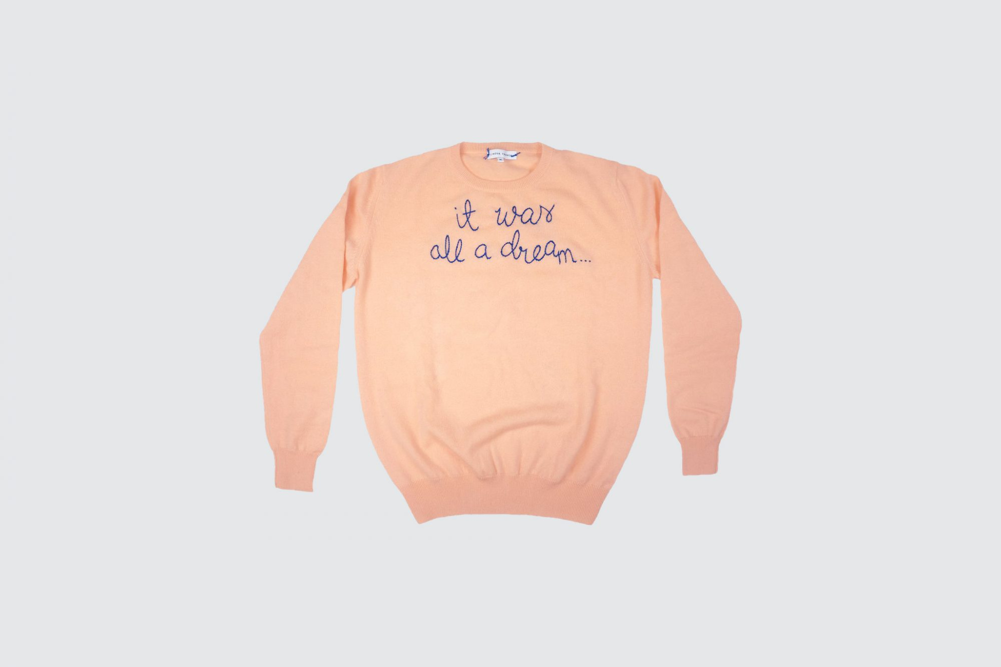 it was all a dream sweater gift