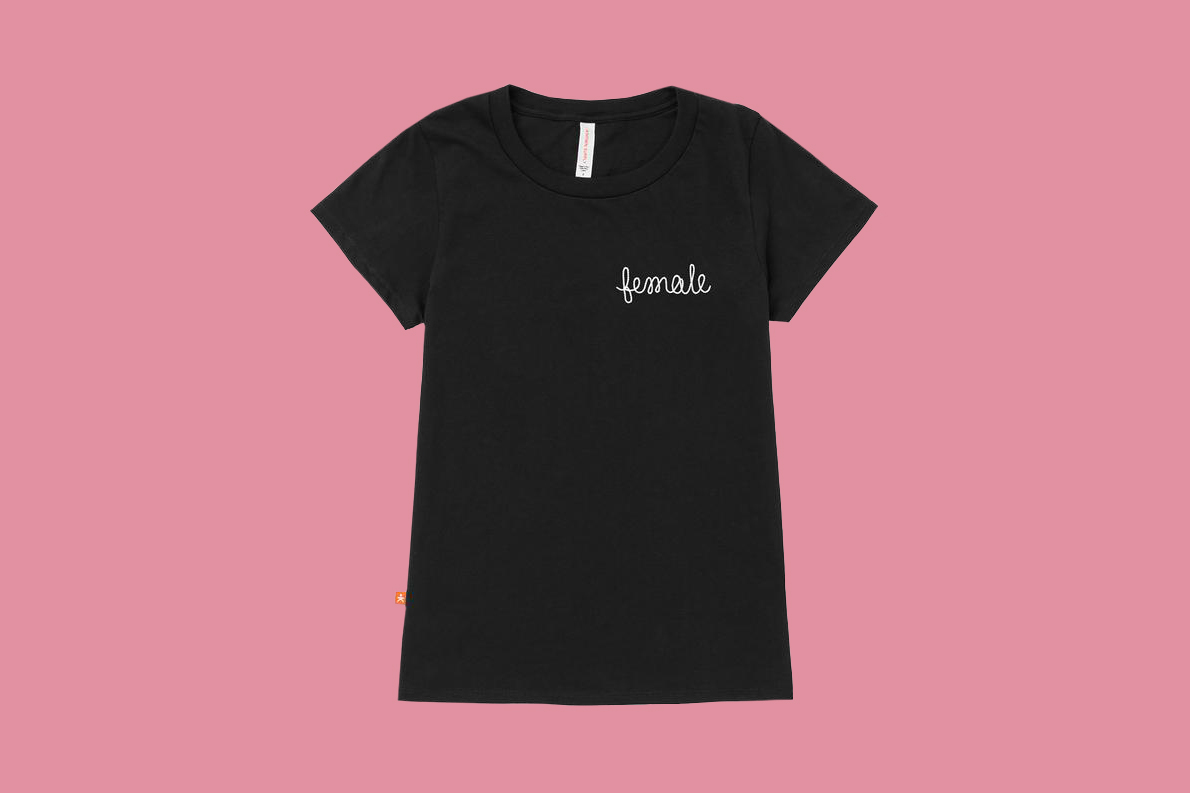 bridesmaid gift empowering tee