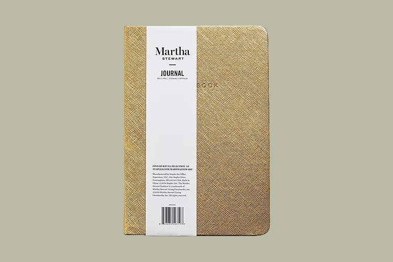 gold martha journal