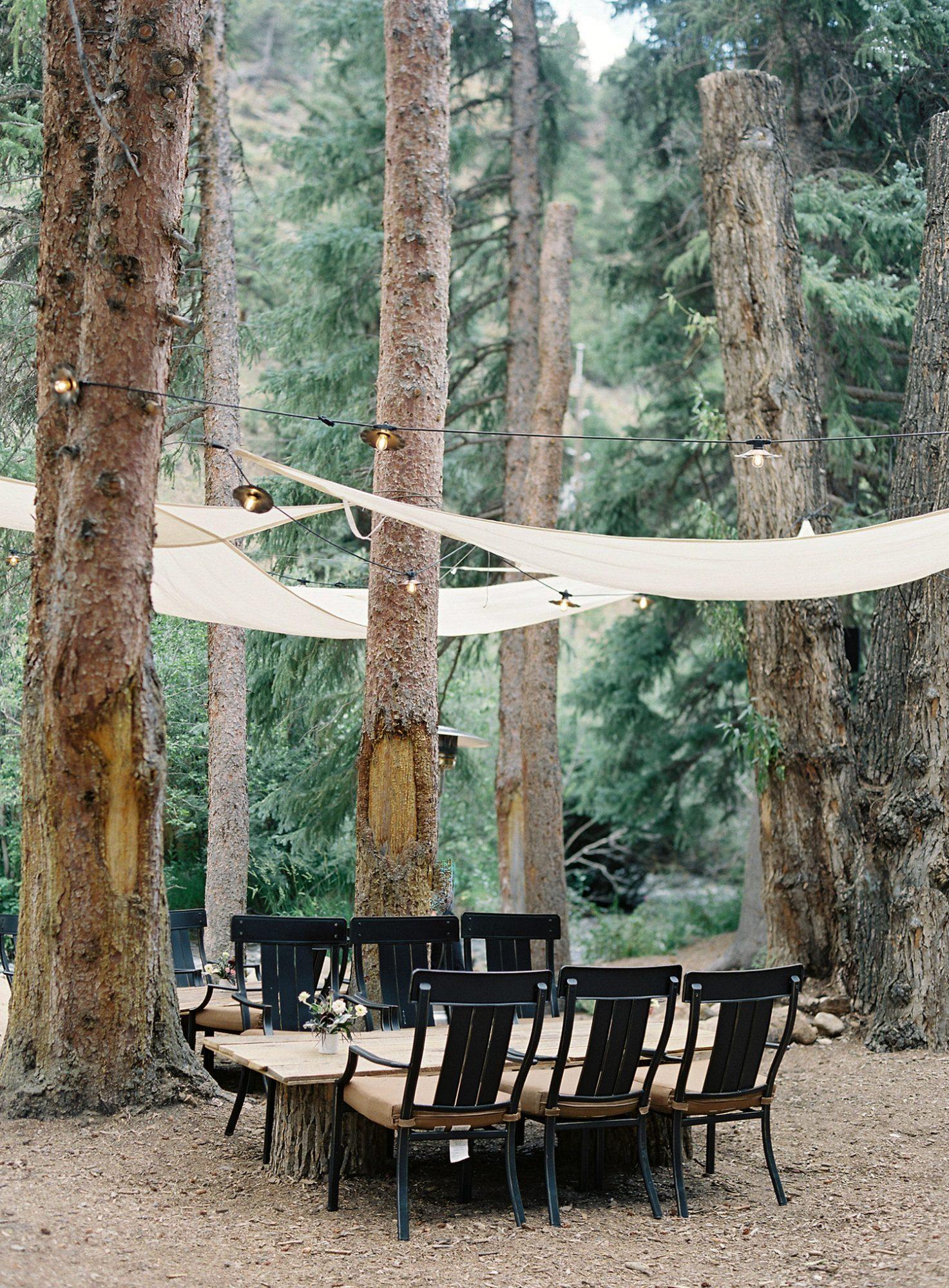 Casey Andrew Wedding Outdoor Lounge Area