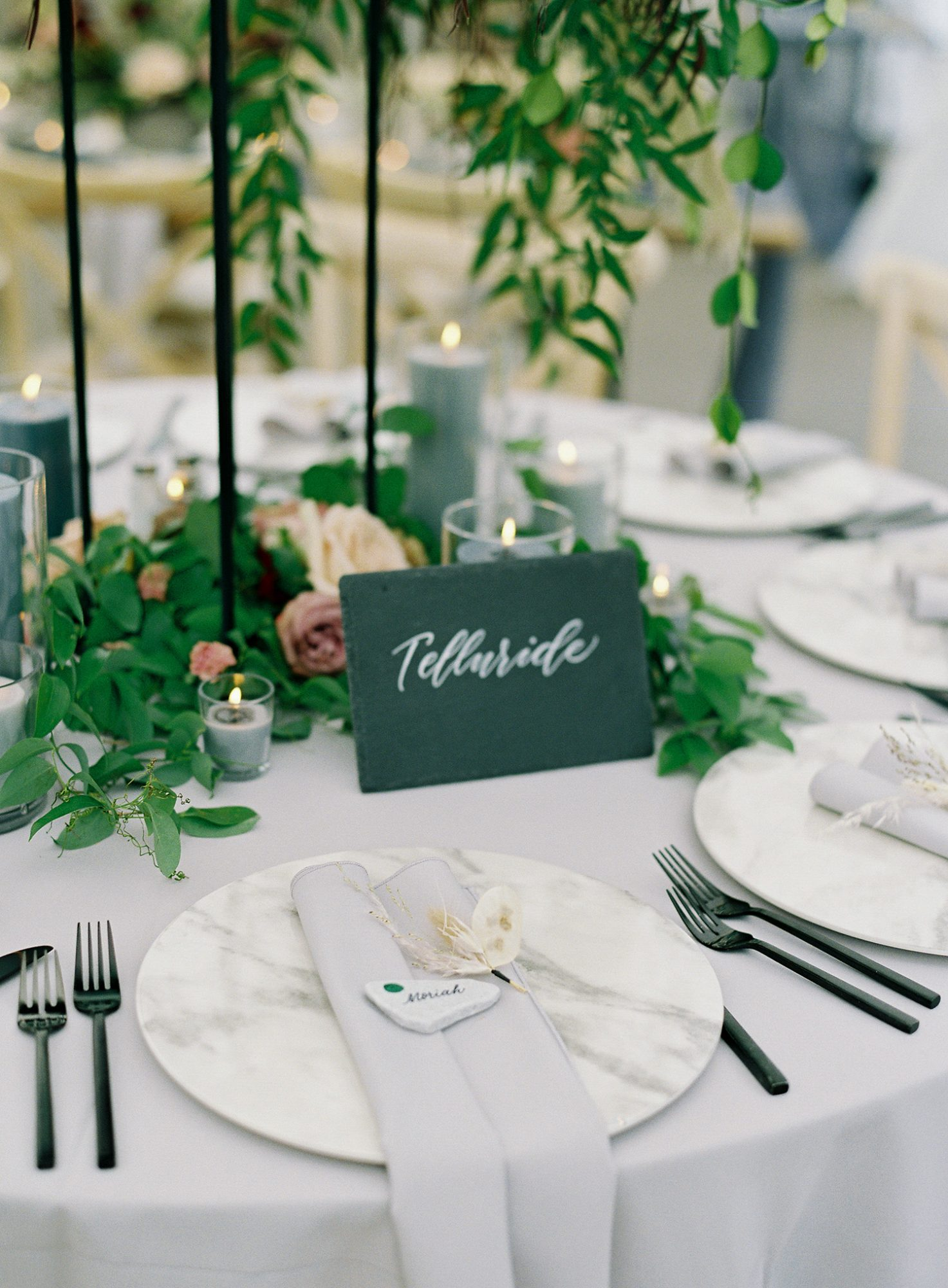 Casey Andrew Wedding Place Setting