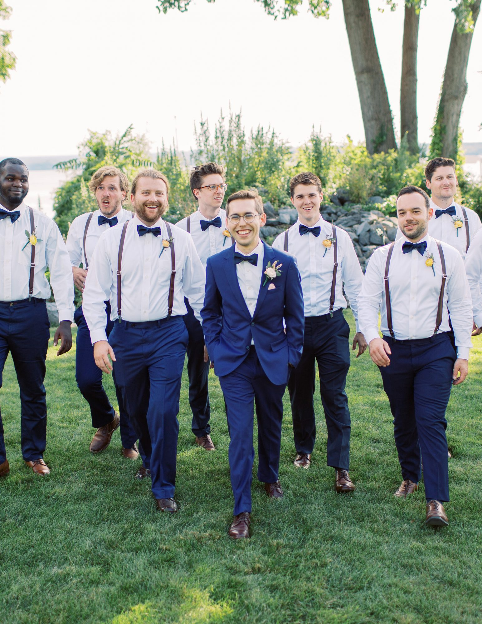charlene jeremy wedding groom and groomsmen portrait