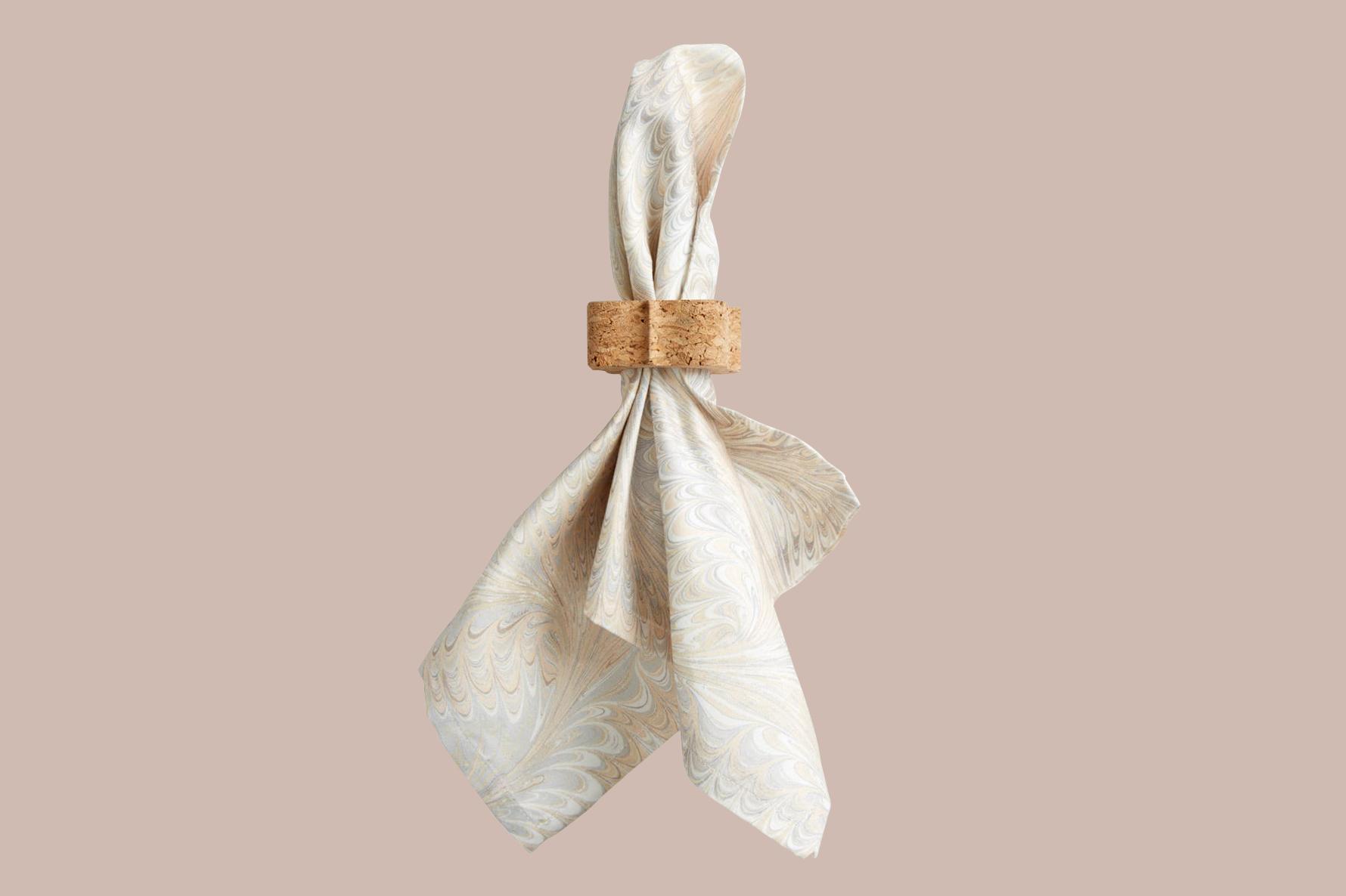"""Juliska """"Quinta"""" Natural Cork Napkin Ring"""