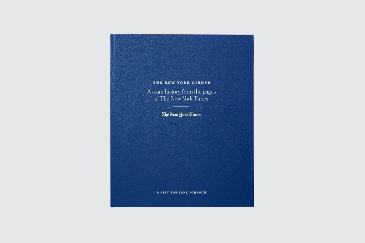 New York Times Football History Book