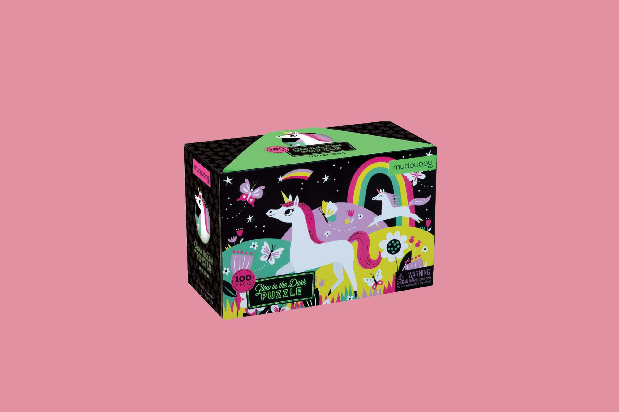 glow in the dark unicorn puzzle