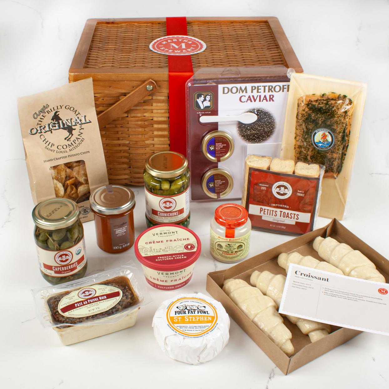 gourmet luxury food gift basket