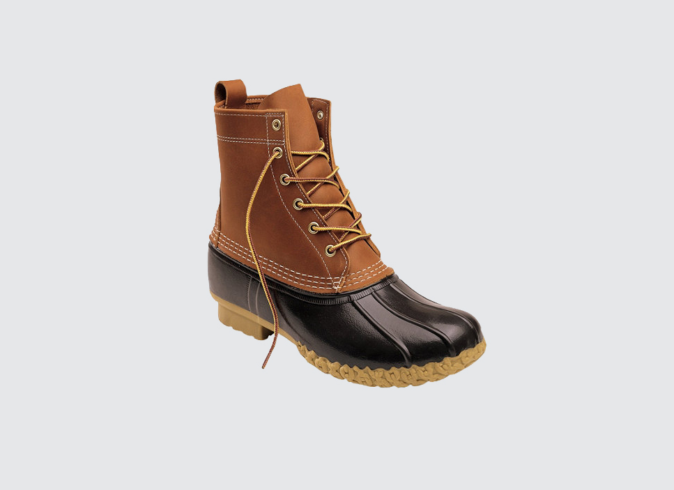 L.L. Bean brown all-weather boot