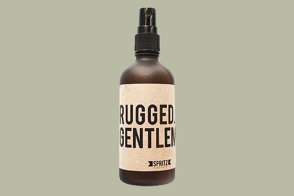 """Happy Spritz """"Rugged Gentleman"""" Spray"""