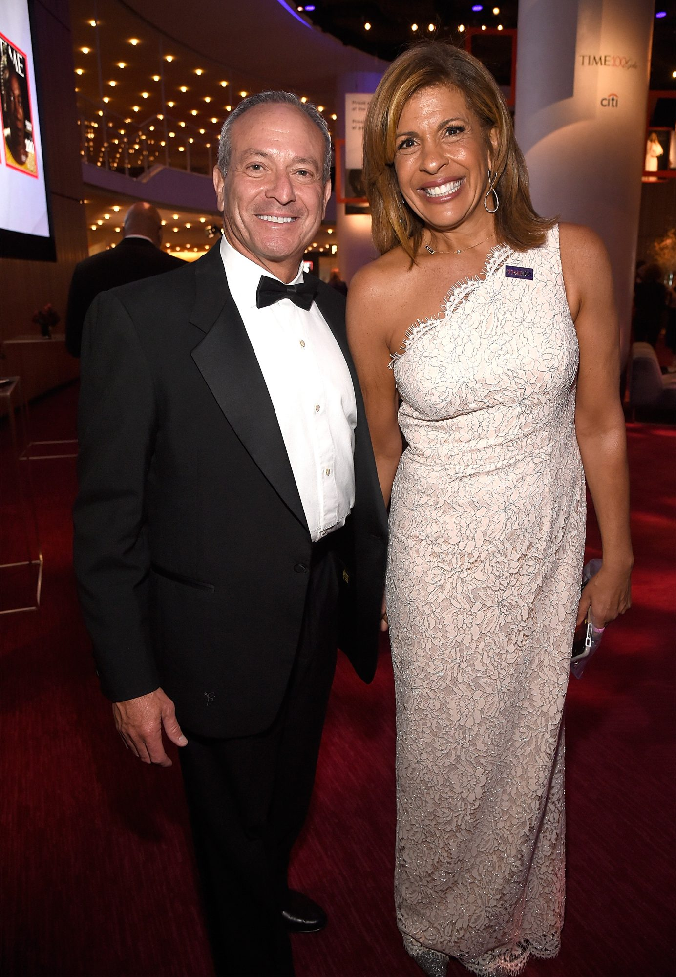 Today show co-host Hoda Kotb and Joel Schiffman