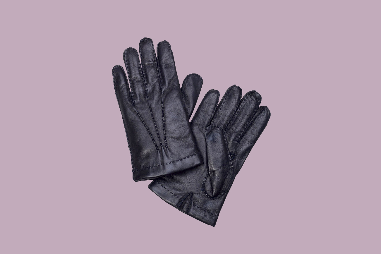 Brooks Brothers Cashmere-Lined Gloves