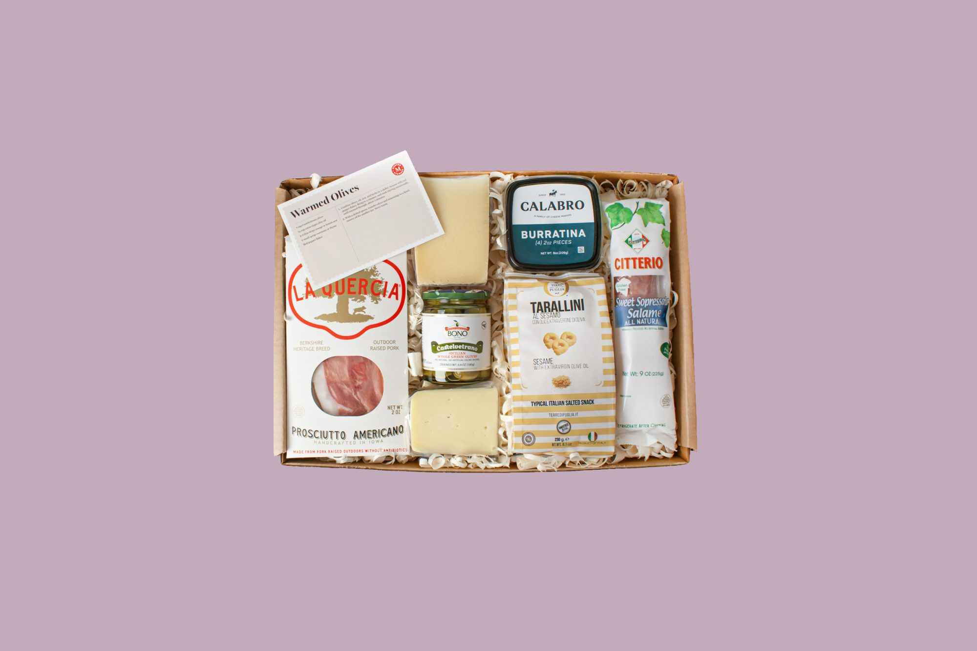 snack food gift kit