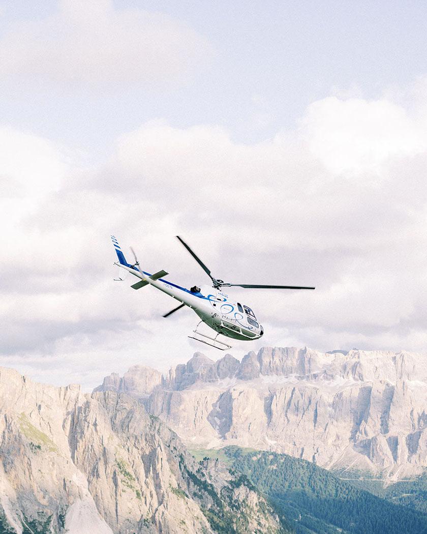 julia franz wedding helicopter